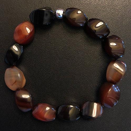 10x14mm Agate Healing Bracelet