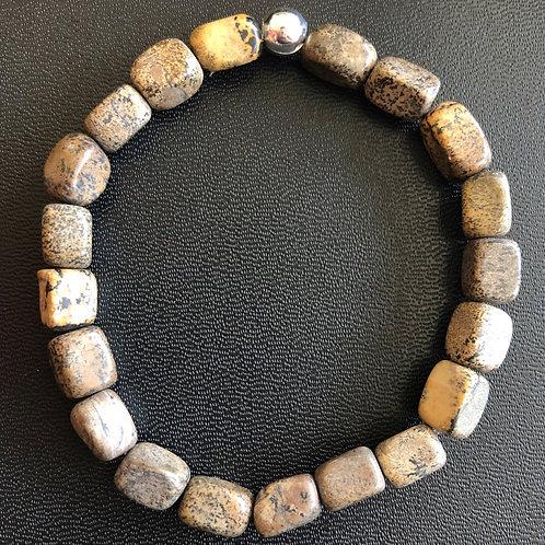 Jasper Nugget Healing Bracelet