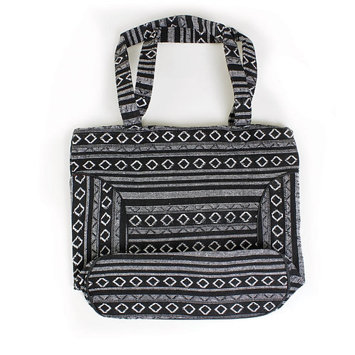 Mud Print Tote Bag