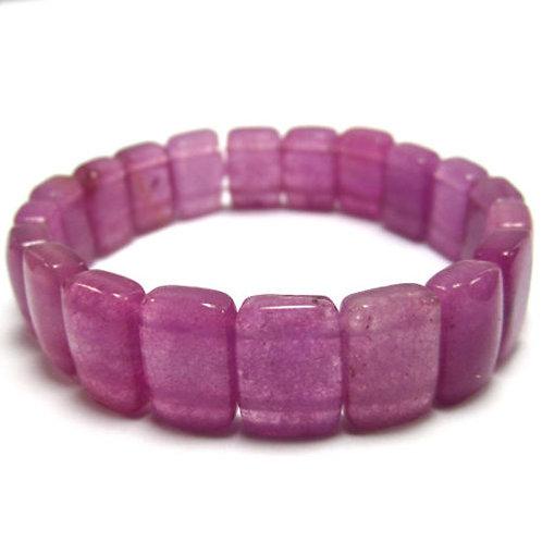 10x14mm Lavendar Jade Bracelet