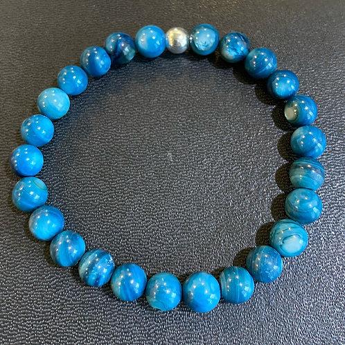 River Shell Healing Bracelet