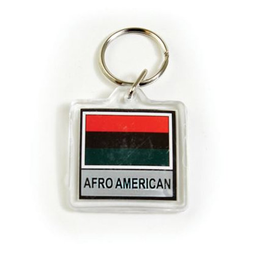 RBG Afro American Keychain