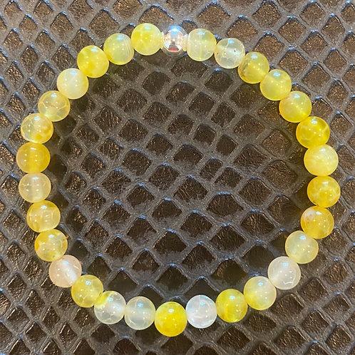 Yellow Agate Healing Bracelet