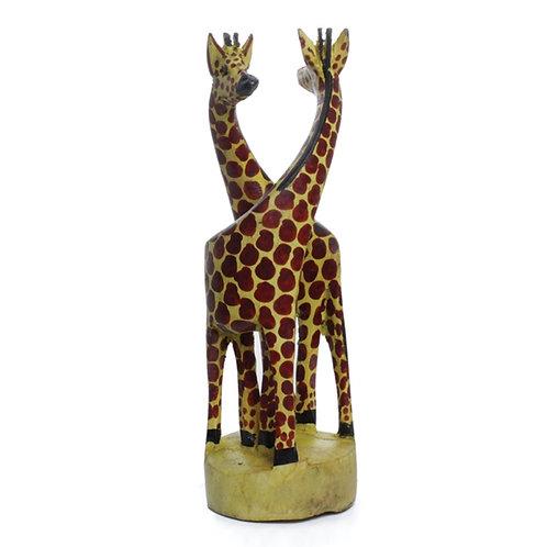 "Giraffe Couple 8"" Tall"