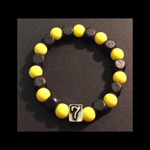 Black and Yellow Godbody Bracelet