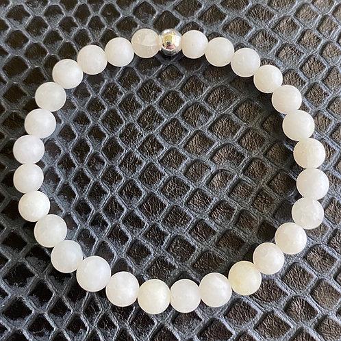 Matte Clear Quartz Healing Bracelet