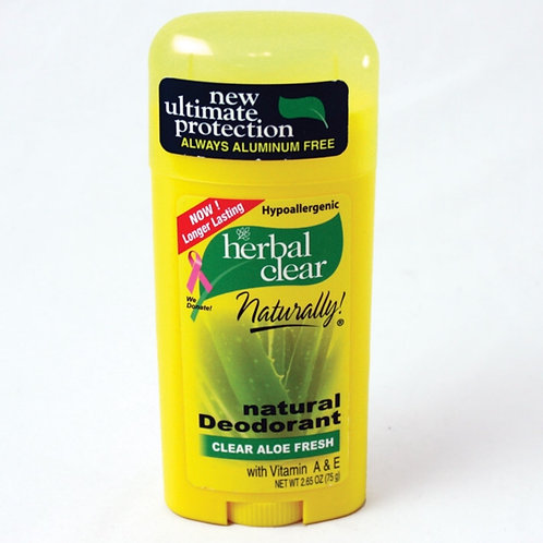 Aloe Vera Natural Deodorant