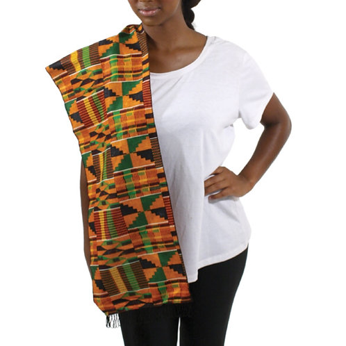 Kente Scarf Bright