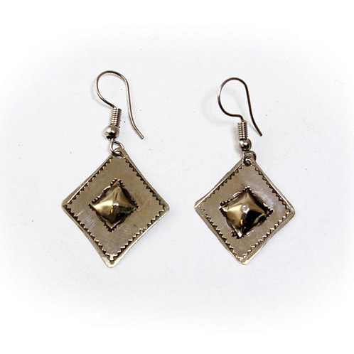 Tuareg Diamond Shaped Earrings