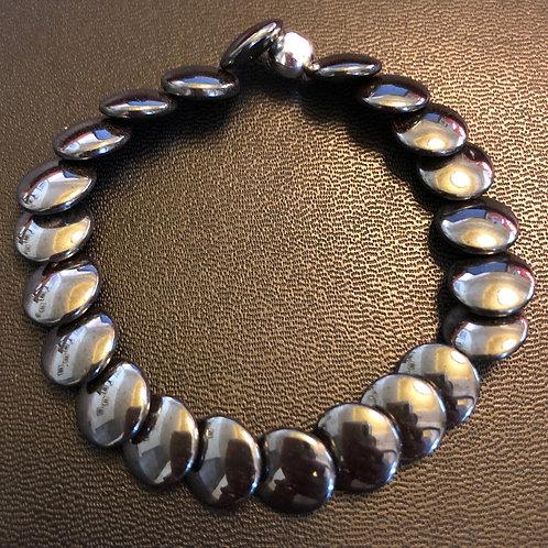 Hematite Coins Healing Bracelet