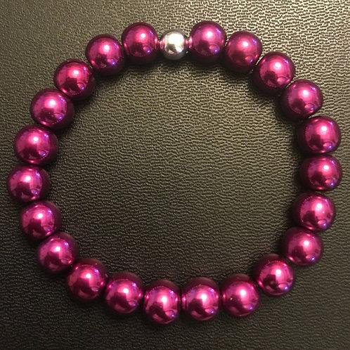 Pink Hematite Healing Bracelet