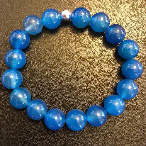 10mm Chalcedony Healing Bracelet