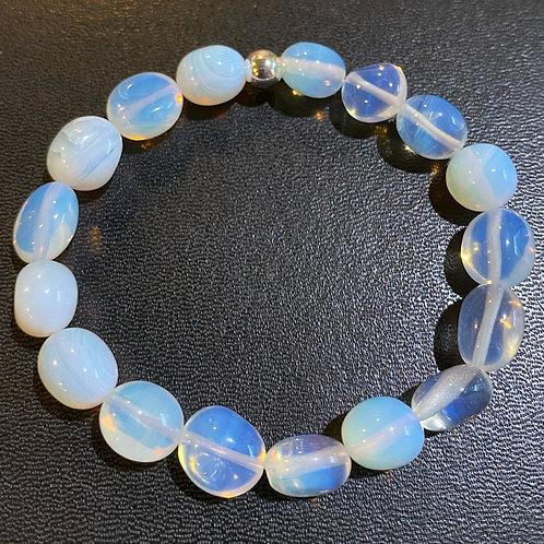 Opalite Pebble Healing Bracelet