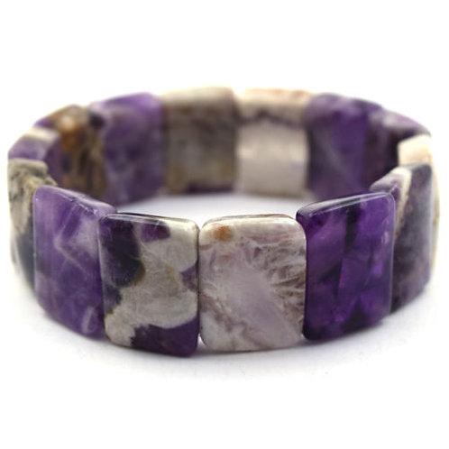 18mm Natural Amethyst Bracelet