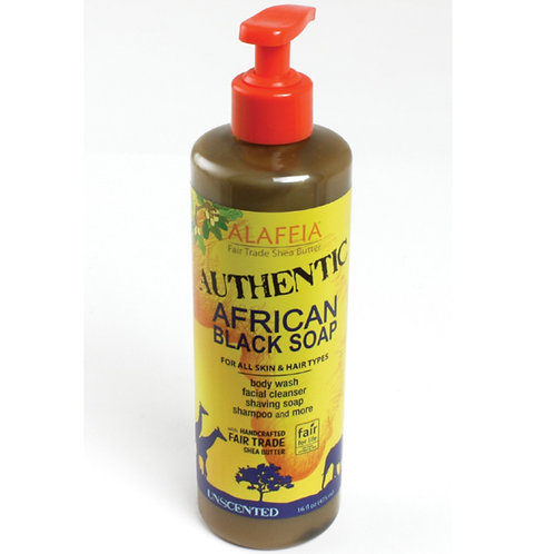 Alaffia Liquid Black Soap