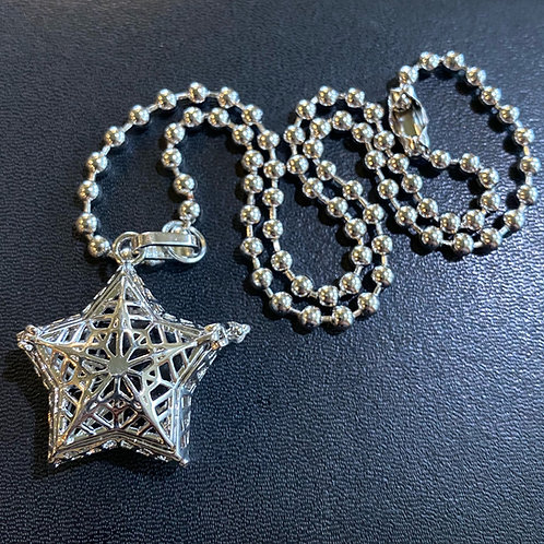 Infuser Star Locket Necklace