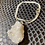 Thumbnail: Clear Quartz Nodule 925 Silver Necklace #4