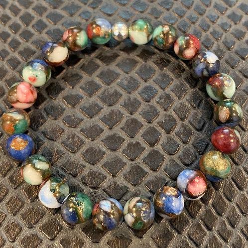 Pressed Jade Healing Bracelet