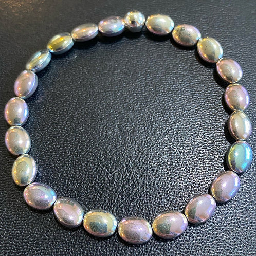 Pastel Hematite Healing Bracelet