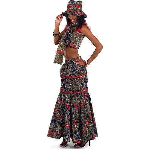 African Skirt Set 5