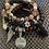 Thumbnail: Faceted Australian Agate Bohemian Bracelet Set