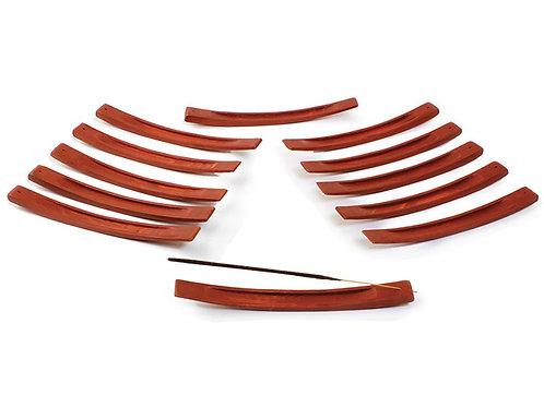 Curved Wooden Incense Burner
