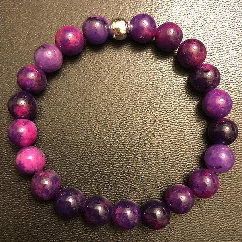 Purple Sugilite Healing Bracelet