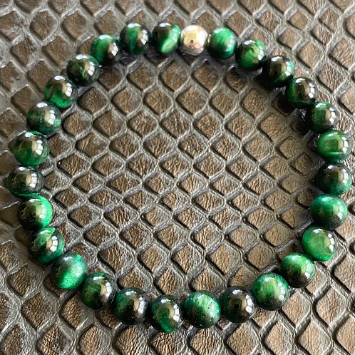 Green Tiger Eye Healing Bracelet