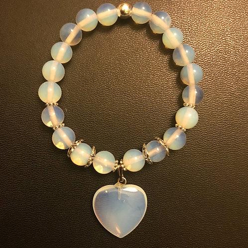 Opalite Charm Bracelet