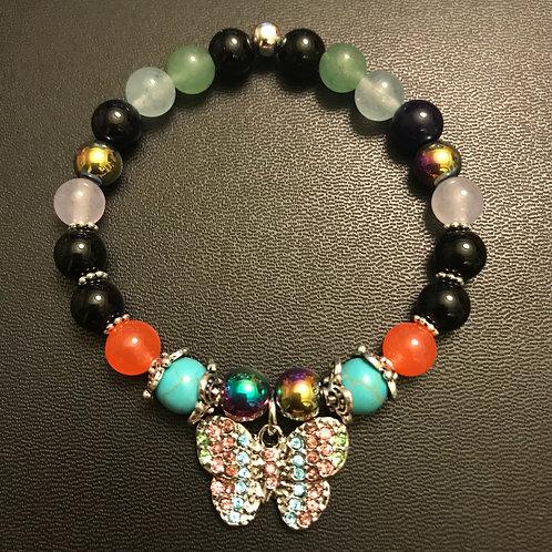Butterfly Energy Healing Bracelet