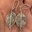 Thumbnail: Green Fluorite Earrings