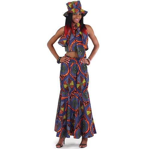 African Skirt Set 3