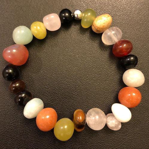 Multi-Stone Stone Healing Bracelet