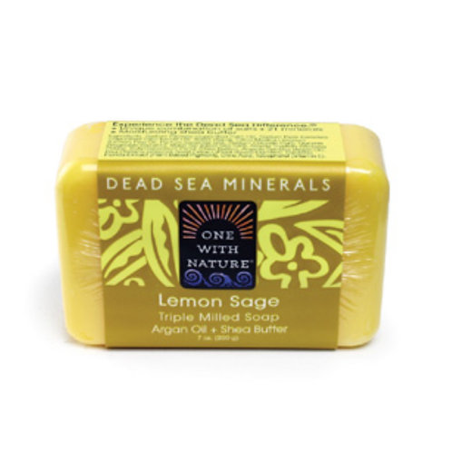 Dead Sea Minerals Lemon Sage Soap