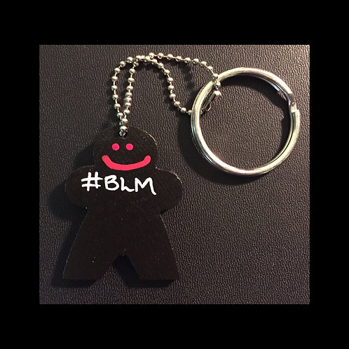 BLM Keychain