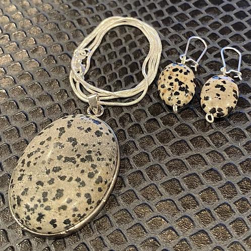 Dalmatian Jasper Set