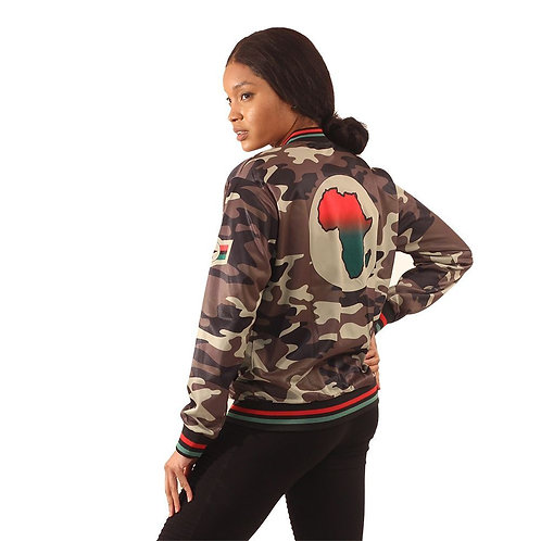 Women's Africa Camo Jacket