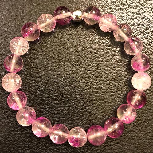 Purple Quartz Healing Bracelet