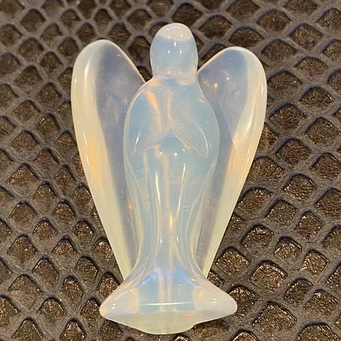 Opalite Crystal Angel Figure