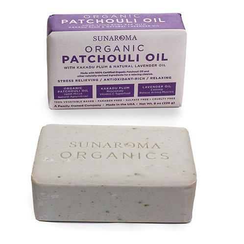 Organic Patchouli Oil Soap