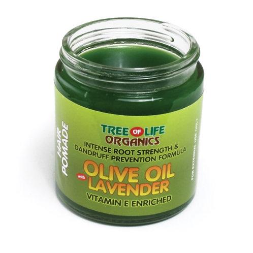 Olive Oil & Lavender Pomade