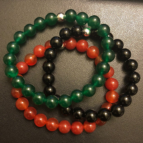 RBG Healing Bracelet Set
