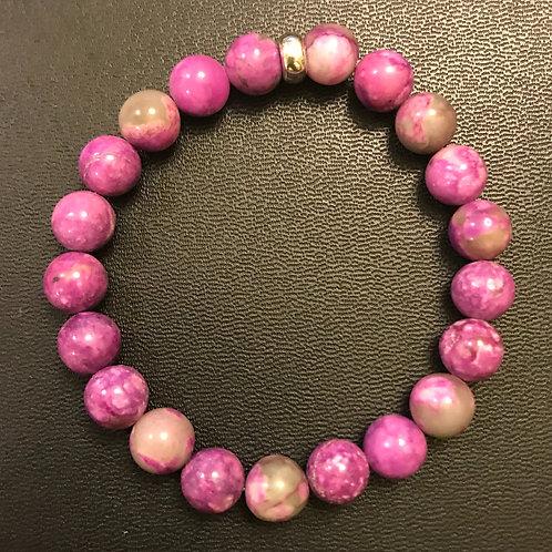 Purple Jasper Healing Bracelet