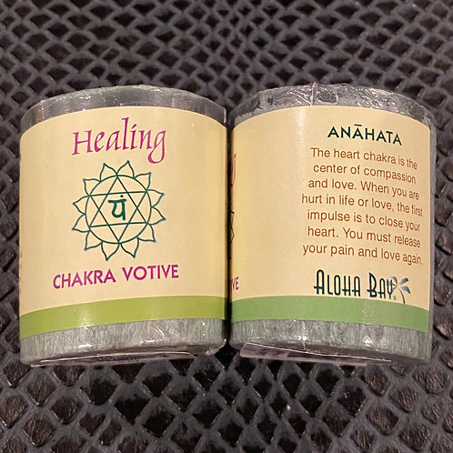 Healing Chakra Votive