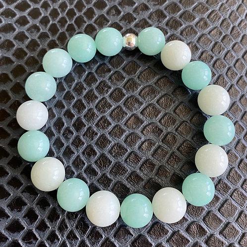 Blue Amazonite Healing Bracelet