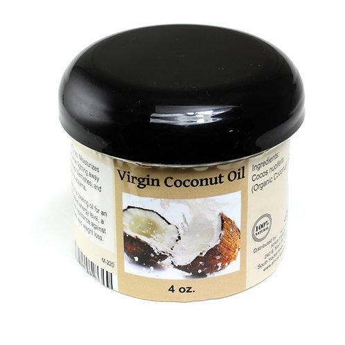 Organic Virgin Coconut Oil (4 oz)