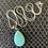 Thumbnail: Turquoise Pendant Necklace