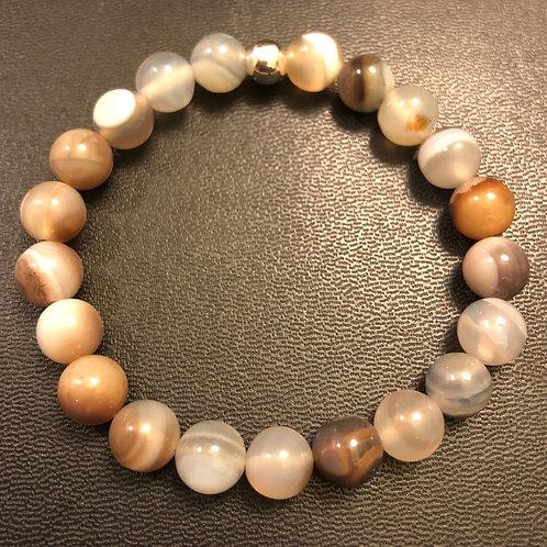 Botswana Agate Healing Bracelet