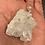 Thumbnail: Clear Quartz Nodule 925 Sterling Silver Necklace #1