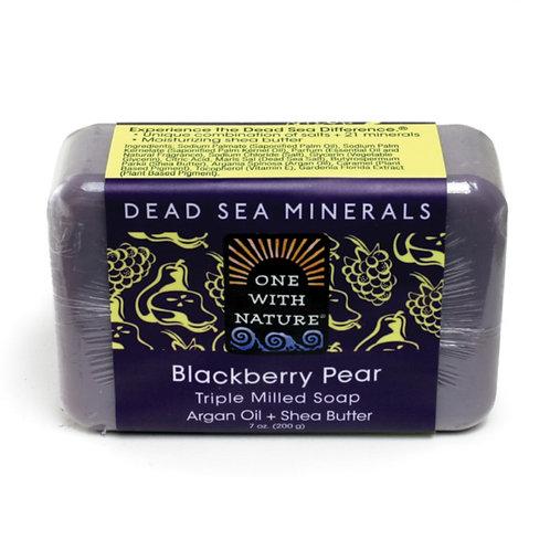 Dead Sea Minerals Blackberry Pear Soap